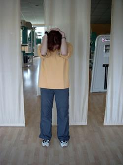 Dehnung hintere Nackenmuskulatur